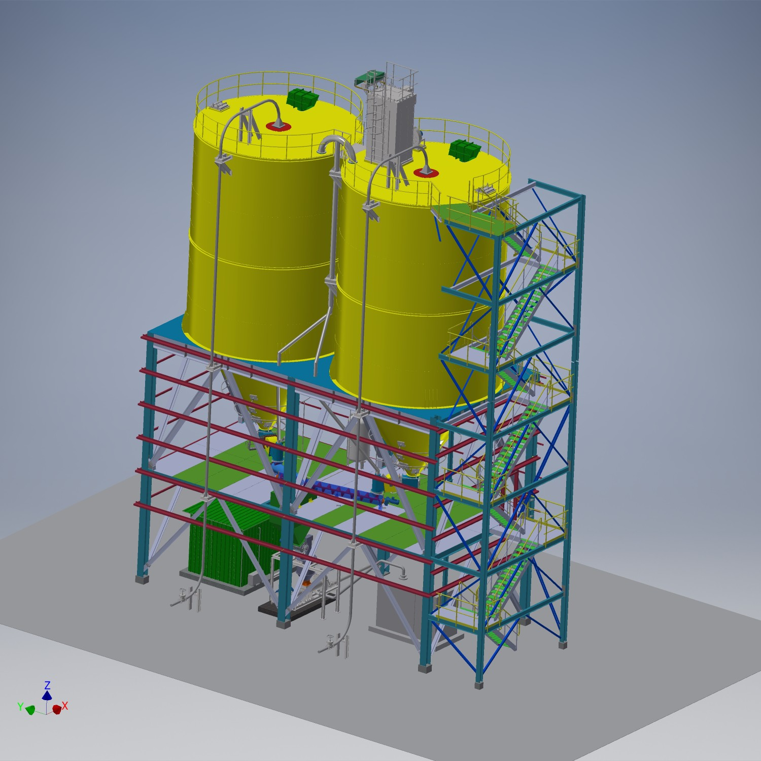 53d fly ash system view 2